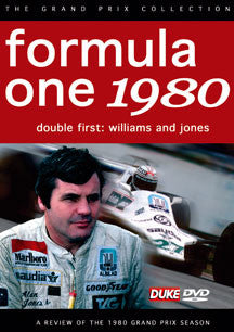 F1 Review 1980 Double First - Williams & Jones (DVD)