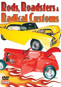 Rods. Roadsters And Radical Customs (DVD)