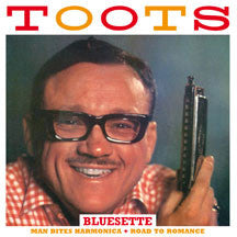 Toots Thielemans - Man Bites Harmonica + Road To Romance (CD)