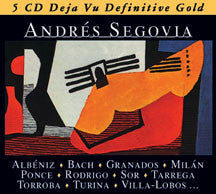 Andres Segovia - Gold (CD)