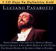 Luciano Pavarotti - Definitive Gold (CD)