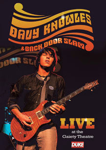Davy Knowles & Back Door Slam Live At The Gaiety Theatre 2009 (DVD)