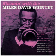 Miles Davis - Steamin' + 1  Bonus Track (Rare, Alternative Cover). (VINYL ALBUM)
