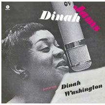 Dinah Washington & Clifford  Brown - Dinah Jams (VINYL ALBUM)