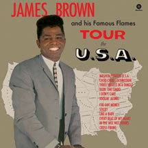 James Brown - Tour The U.S.A + 2 Bonus Tracks (VINYL ALBUM)