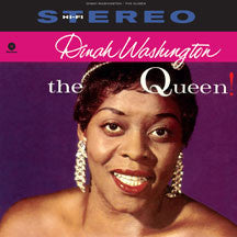 Dinah Washington - The Queen + 2 Bonus Tracks (VINYL ALBUM)