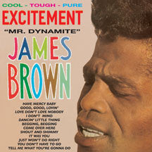 James Brown - Excitement Mr. Dynamite + 4 Bonus Tracks (VINYL ALBUM)