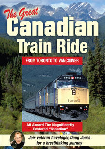 Doug Jones - The Great Canadian Train Ride (DVD)