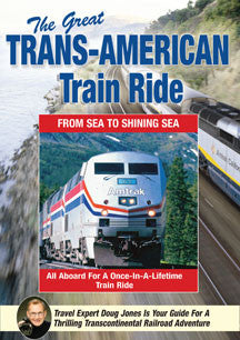 Doug Jones - The Great Trans American Train Ride (DVD)