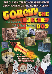 Torchy The Battery Boy: The Complete First And Second Series (DVD)