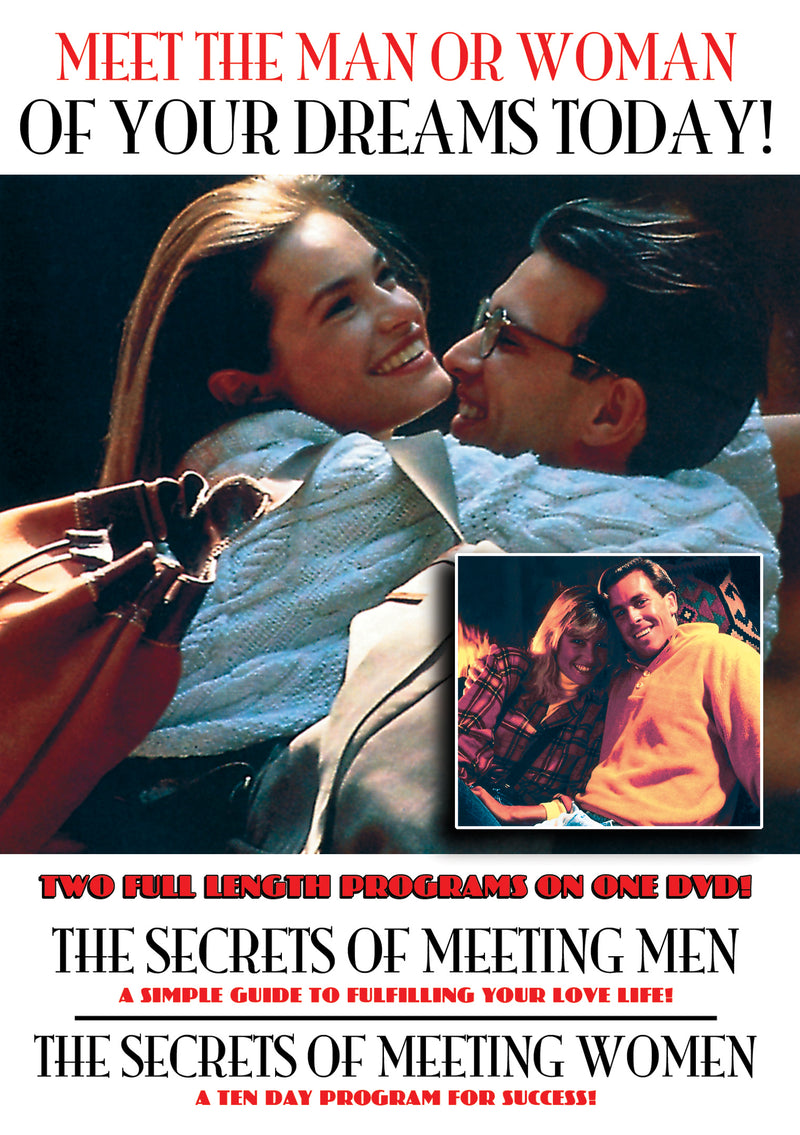 The Secrets Of Meeting Women And Men (DVD)