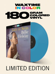 Billie Holiday - Lady In Satin (VINYL ALBUM)