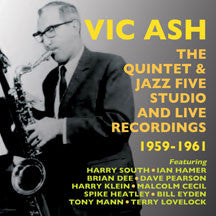 Vic Ash - Quintet & Jazz Five Studio And Live Recordings 1959-1961 (CD)