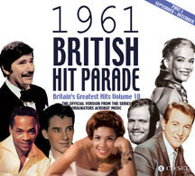 1961 British Hit Parade Part 3 September: December (CD)