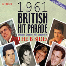 1961 British Hit Parade: B-sides Part Three: Sept-Dec (CD)