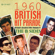 1960 British Hit Parade: B Sides Part Three: Sept-Dec (CD)