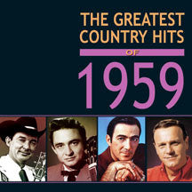 Greatest Country Hits Of 1959 (CD)
