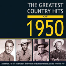 Greatest Country Hits Of 1950 (CD)