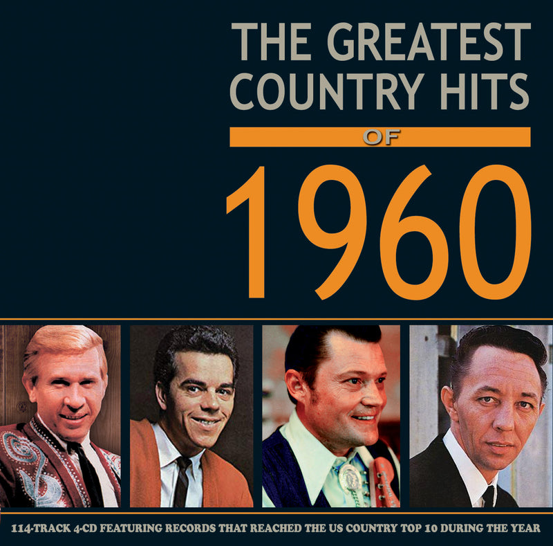 Greatest Country Hits Of 1960 (CD)