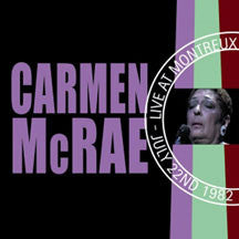 Carmen Mcrae - Live At Montreux 1982 (CD)