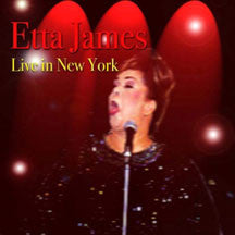 Etta James - Live In New York (CD)
