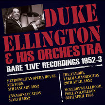Duke Ellington - Rare Live Recordings 1952 - 53 (CD)
