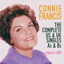 Connie Francis - Complete US Singles As & Bs 1955-62 (CD)