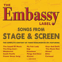 Embassy Label: Songs From Stage & Screen (CD)