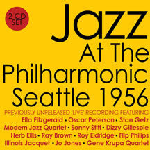 Jazz At The Philharmonic: Seattle 1956 (CD)