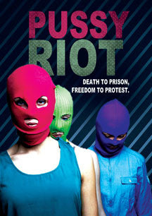 Pussy Riot - Death To Prison, Freedom To Protest (DVD)