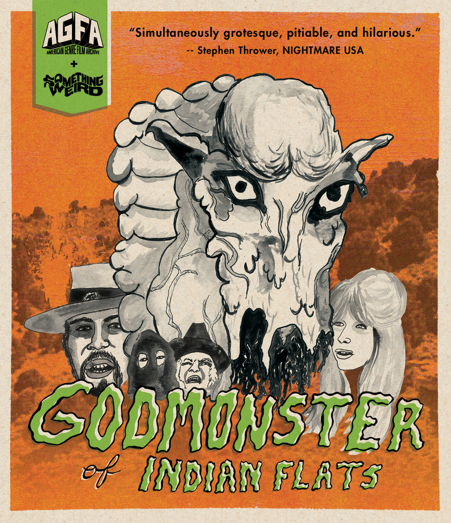 Godmonster Of Indian Flats (BLU-RAY)