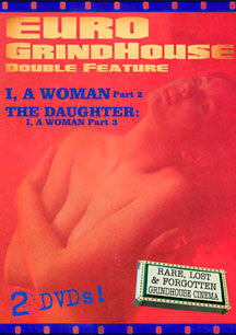 Euro Grindhouse Double Feature: I, A Woman Part 2/The Daughter: I, A Woman Part 3 (DVD)