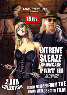42nd Street Pete's Extreme Sleaze Showcase Part III: The Peepland Collection (DVD)
