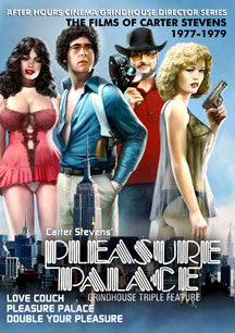 Pleasure Palace Grindhouse Triple Feature 2-DVD Collection (DVD)