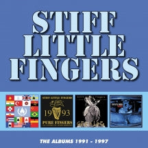 Stiff Little Fingers - The Albums 1991-1997 (CD)