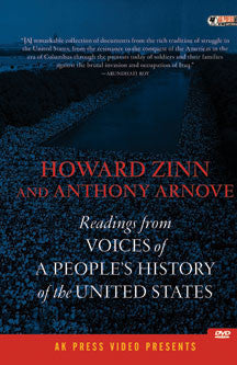 Howard Zinn - Voices Of A People's History Of The USA (DVD)