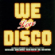 We Love Disco (CD)