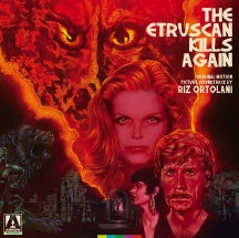 Etruscan Kills Again, The: Original Motion Picture Soundtrack (Red And Black Splatter) (LP)