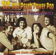 Tnt - Mod Psych Power Pop From Central Pa [1974-1976] (CD)