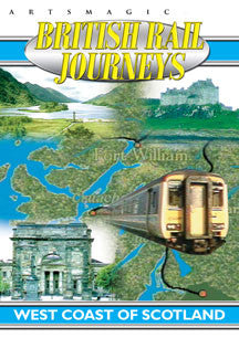 British Rail Journeys - West Coast Of Scotland (DVD)