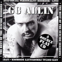 GG Allin - Suicide Sessions-Best Of (CD)