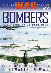 War Archive - Bombers & Bombing Raids (DVD)