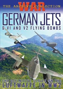 German Jets & V1/V2 Flying Machines (DVD)