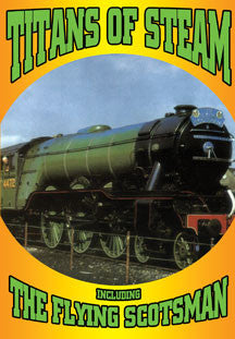 Titans Of Steam - Including The Flying Scotsman (DVD)
