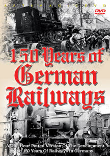 150 Years Of German Railways (DVD)
