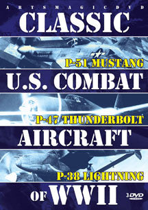 Classic U.s. Combat Aircraft Of Wwii (DVD)