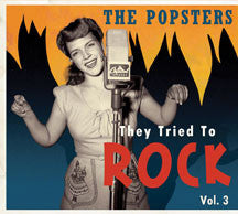 They Tried To Rock, Vol. 3: The Popsters (CD)