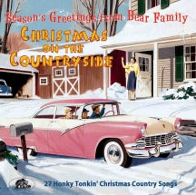 Christmas On The Countryside: 27 Honky Tonkin' Christmas Country Songs (CD)