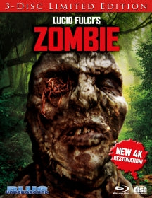 Zombie: Limited Edition (Cover C Worms) (BLU-RAY)