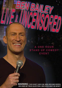 Ben Bailey - Ben Bailey Live And Uncensored (DVD)